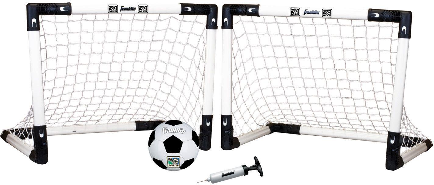 franklin mls mini insta indoor soccer goal set u0027s sporting goods