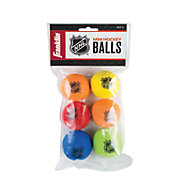 Franklin NHL Mini Foam Street Hockey Balls – 6 Pack