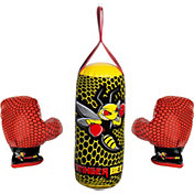 Franklin Stinger Bee Youth Punching Bag and Glove Set