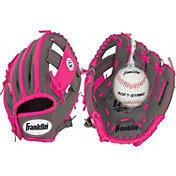 "Franklin 9.5"" Girls' T-Ball RTP Series Glove w/ Ball"