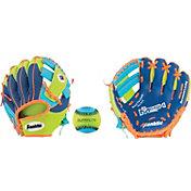 """Franklin 9.5"""" T-Ball Recreational Glove w/ Ball"""