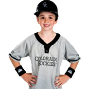Franklin Colorado Rockies Uniform Set