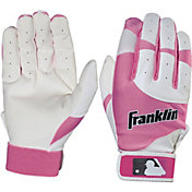 Franklin Youth Flex Series Pink Batting Gloves