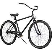 Firmstrong Adult 29'' Black Rock Single Speed Beach Cruiser Bike
