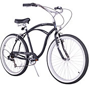 Firmstrong Men's Urban Man Seven Speed Beach Cruiser Bike