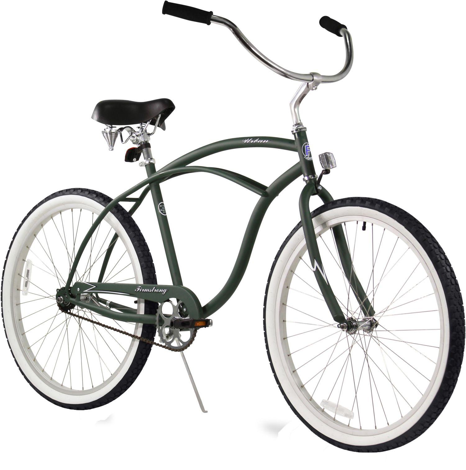 Firmstrong Adult Urban Man 26 Single Speed Beach Cruiser Bike