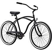 sixthreezero Men's 26'' Around The Block Single Speed Cruiser Bike
