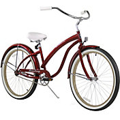 Firmstrong Women's Bella Fashionista Single Speed Beach Cruiser Bike