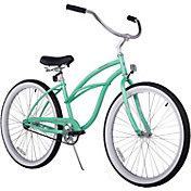Firmstrong Women's 24'' Urban Lady Single Speed Beach Cruiser Bike