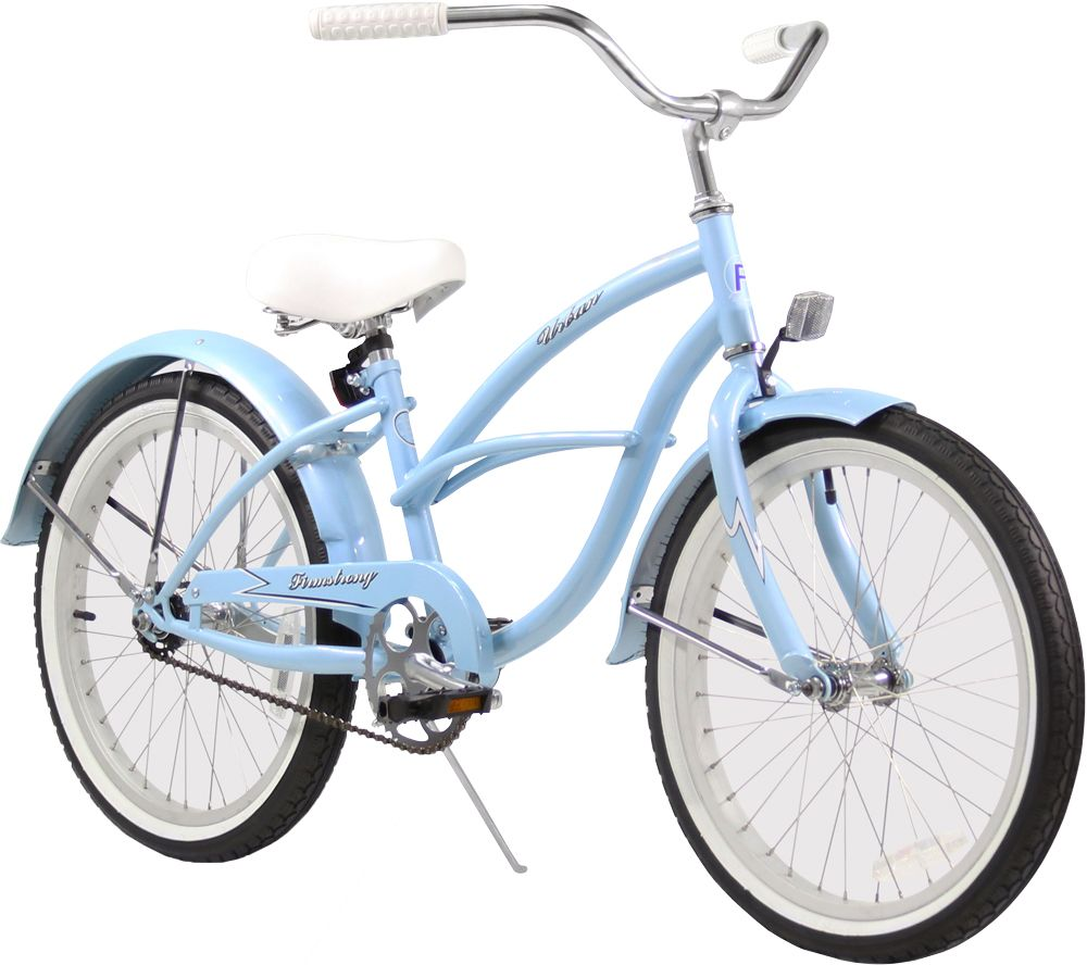Firmstrong Girls 20 Urban Girl Single Speed Beach Cruiser Bike