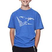 Flow Society Boys' Origami Dino Graphic T-Shirt