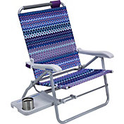 GCI Waterside Big Surf Beach Chair with Slide Table