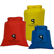 geckobrands Waterproof Compression Dry Bags- 3 Pack