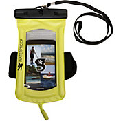 geckobrands Floatable Waterproof Phone Case with Audio Cord and Arm Band