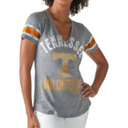 G-III For Her Women's Tennessee Volunteers Gray Any Sunday T-Shirt