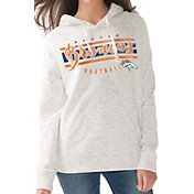 Touch by Alyssa Milano Women's Denver Broncos Pre-Game Oatmeal Pullover Hoodie