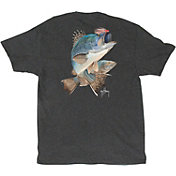 Guy Harvey Men's Black Sea Bass T-Shirt