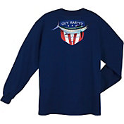 Guy Harvey Men's Down Home Long Sleeve Shirt