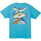 Guy Harvey Men's Northeast Collage T-Shirt