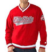Starter Men's Ohio State Buckeyes Scarlet The Gameday Trainer Jacket