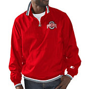 Starter Men's Ohio State Buckeyes Scarlet The Player Jacket