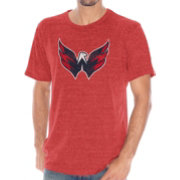 G-III Men's Washington Capitals Red Tri-Blend T-Shirt