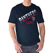 G-III Men's Florida Panthers Overtime Navy T-Shirt