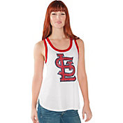 Touch by Alyssa Milano Women's St. Louis Cardinals White Tank Top