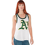 Touch by Alyssa Milano Women's Oakland Athletics White Tank Top