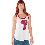 Touch by Alyssa Milano Women's Philadelphia Phillies White Tank Top