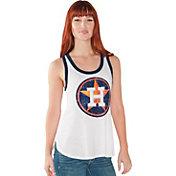 Touch by Alyssa Milano Women's Houston Astros White Tank Top