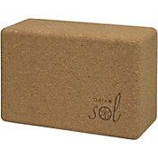 Gaiam Studio Select Cork Yoga Block