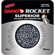 Gamo Rocket .22 Caliber Airgun Pellets - 100 Count