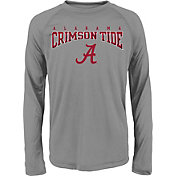 Gen2 Youth Alabama Crimson Tide Grey Fadeout Long Sleeve Shirt