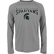 Gen2 Youth Michigan State Spartans Grey Fadeout Long Sleeve Shirt