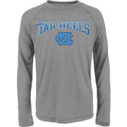 Gen2 Youth UNC Tar Heels Grey Fadeout Long Sleeve Shirt