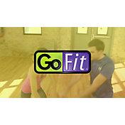 GoFit 15 lb Kettlebell