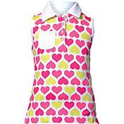 Garb Girls' Rebecca Sleeveless Golf Polo
