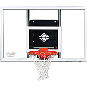 "Goalsetter 60"" Fixed Height Baseline Glass Backboard and HD Breakaway Rim"