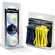 Team Golf Cal Golden Bears Golf Ball and Tee Set
