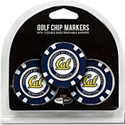 Team Golf California Golden Bears Poker Chips Ball Markers - 3-Pack