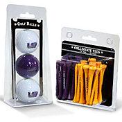 Team Golf LSU Tigers Golf Ball and Tee Set