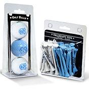 Team Golf North Carolina Tar Heels Golf Ball and Tee Set