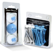 Team Golf North Carolina Tar Heels Golf Ball and Tee Set