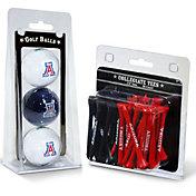 Team Golf Arizona Wildcats Golf Ball and Tee Set