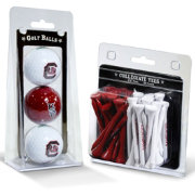 Team Golf South Carolina Gamecocks Golf Ball and Tee Set