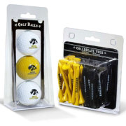 Team Golf Iowa Hawkeyes Golf Ball and Tee Set