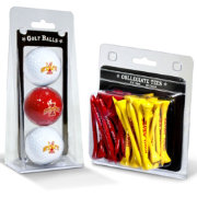 Team Golf Iowa State Cyclones Golf Ball and Tee Set