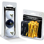 Team Golf West Virginia Mountaineers Golf Ball and Tee Set