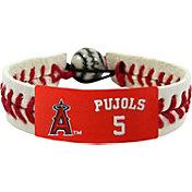 GameWear Los Angeles Angels Albert Pujols Team-Colored Baseball Bracelet